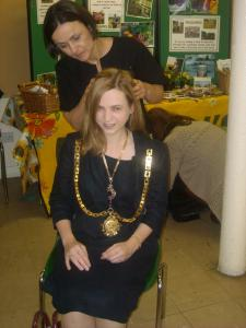 Mental Health Awareness Day Hertford 2012 - Complementary Therapies for the Mayor